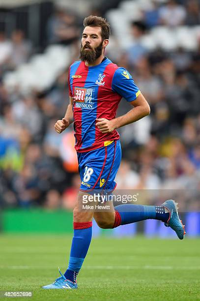 Joe Ledley of Crystal Palace in action during a Pre Season Friendly between Fulham and Crystal Palace at Craven Cottage on August 1 2015 in London...