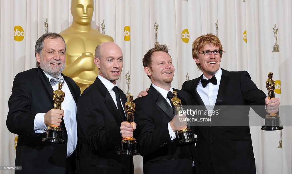 Joe Letteri, Stephen Rosenbaum, Richard : News Photo