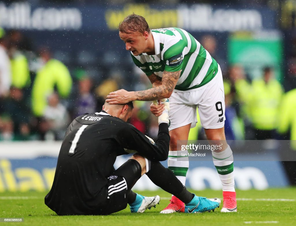 Celtic v Aberdeen - William Hill Scottish Cup Final : News Photo