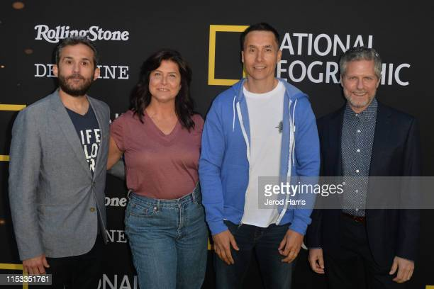 Joe Litzinger Sue Aikens Ricko DeWilde and Travis Shakesphere attend National Geographic's Contenders Showcase at The Greek Theatre on June 2 2019 in...