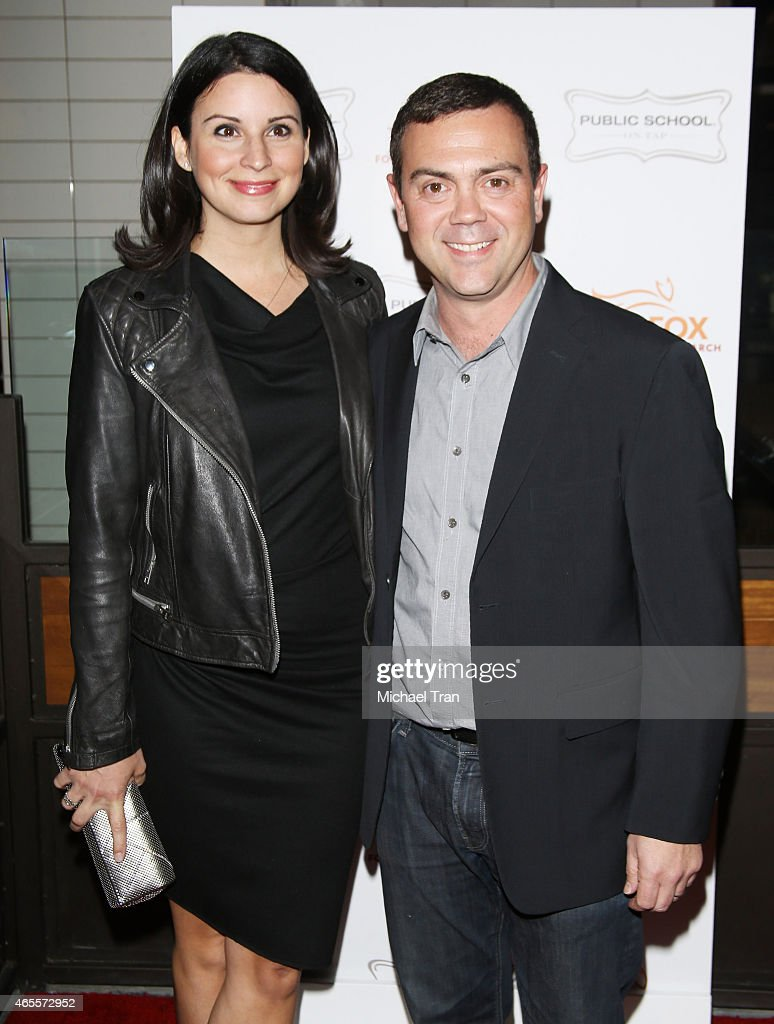 Joe Lo Truglio And His Wife Beth Dover Arrive At The Raising The Bar News Photo Getty Images