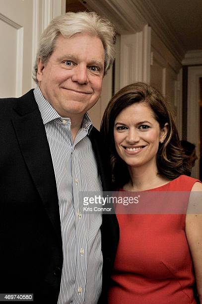 Joe Lockhart and New Washington DC Editor Giovanna Gray Lockhart attend a reception to honor Lockhart as the new Glamour Washington DC Editor at a...