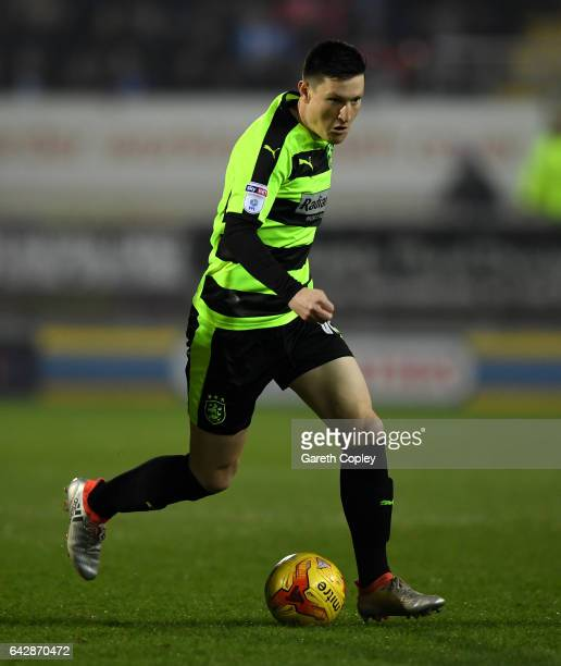 Joe Lolley of Huddersfield during the Sky Bet Championship match between Rotherham United and Huddersfield Town at The New York Stadium on February...