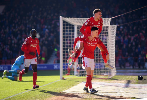 GBR: Nottingham Forest v Luton Town - Sky Bet Championship