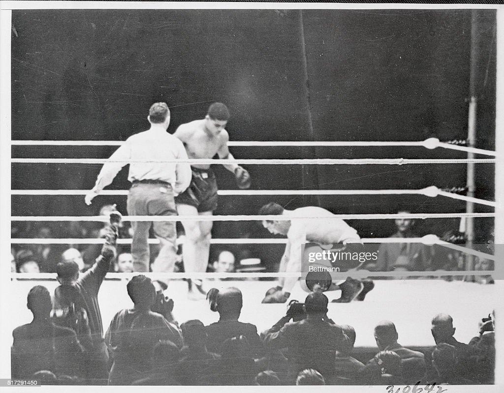 Joe Louis Detroit's brown bomber scored a technical knockout