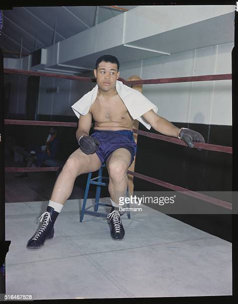 """Joe Louis, the """"Brown Bomber,"""" 1914-1981, American boxer. Defeated James J. Braddock to win world heavyweight championship. Defended title 25 times,..."""