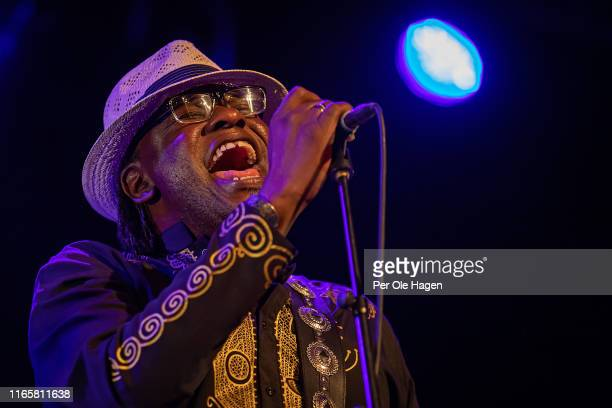 Joe Louis Walker with The Supersonic Blues Machine performs on stage at The Notodden Blues Festival on August 2 2019 in Notodden Norway