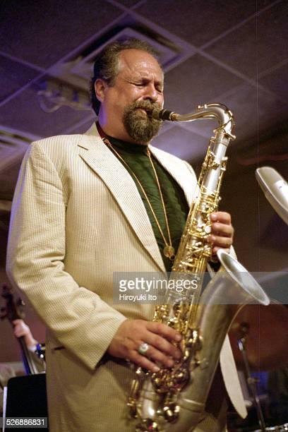 Joe Lovano Hank Jones George Mraz and Paul Motian performing at Iridium on Tuesday night June 8 2004This imageJoe Lovano