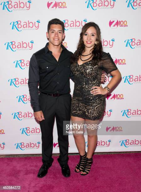 Joe Luca and Lenore Luca attend R Baby Foundation's Rockin' To Save Babies' Lives Benefit Concert Presented By Z100 at Hammerstein Ballroom on July...