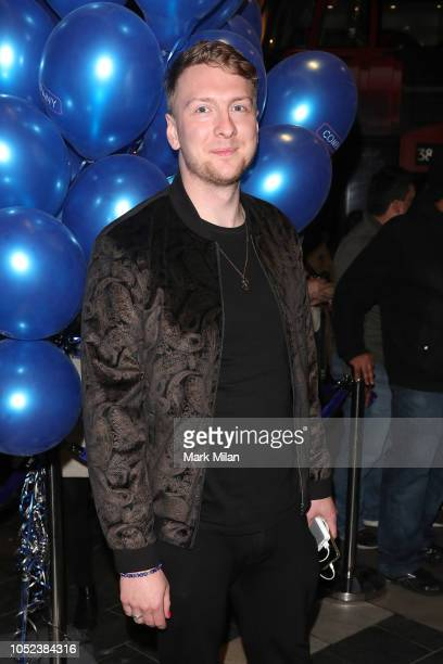 Joe Lycett attends the opening night of 'Company' at Gielgud Theatre on October 17 2018 in London England