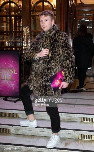 Joe Lycett attends the premiere of Snow White at London Palladium on December 12 2018 in London England