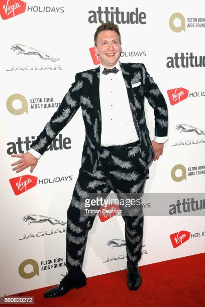 Joe Lycett attends the Virgin Holiday's Attitude Awards 2017 at The Roundhouse on October 12 2017 in London England