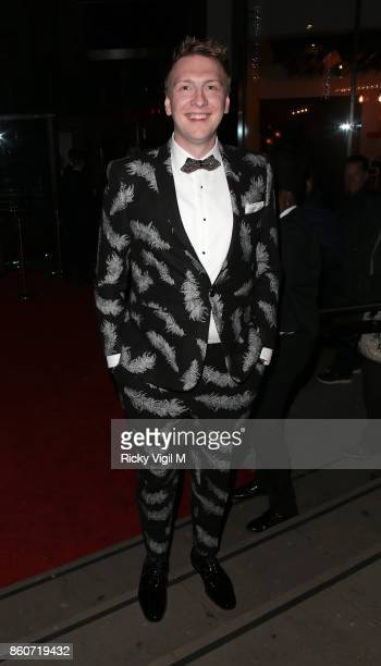 Joe Lycett seen attending Attitude Magazine Awards at Roundhouse on October 12 2017 in London England