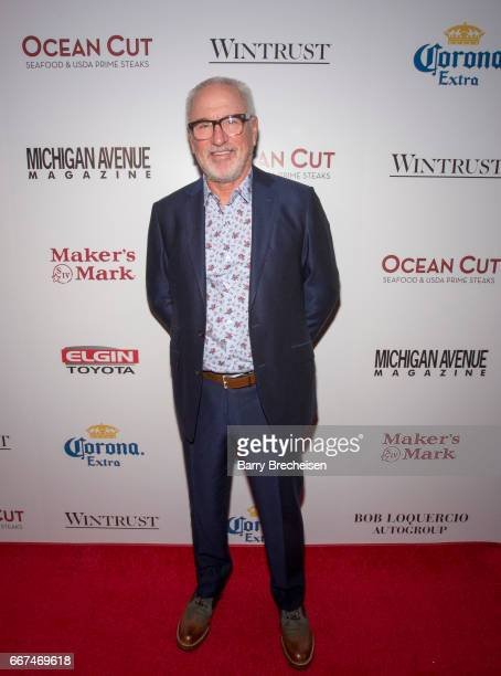 Joe Maddon during the Michigan Avenue Magazine's cover party at Ocean Cut on April 11 2017 in Chicago Illinois