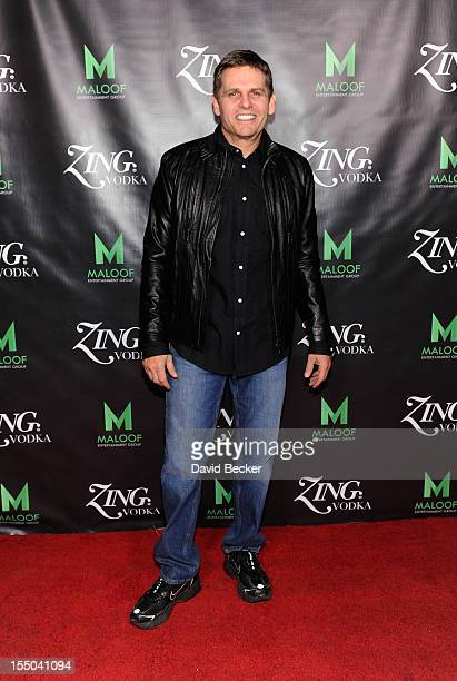 Joe Maloof appears at the ZING Vodka's Las Vegas Launch Party at his brother, Gavin Maloof's home on October 30, 2012 in Las Vegas, Nevada.