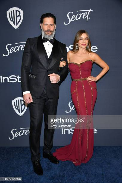 Joe Manganiello and Sofía Vergara attend the 21st Annual Warner Bros. And InStyle Golden Globe After Party at The Beverly Hilton Hotel on January 05,...