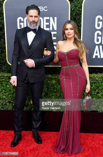 Joe Manganiello and Sofía Vergara attend the 77th Annual Golden Globe Awards at The Beverly Hilton Hotel on January 05 2020 in Beverly Hills...
