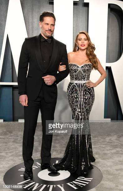 Joe Manganiello and Sofía Vergara attends the 2020 Vanity Fair Oscar Party hosted by Radhika Jones at Wallis Annenberg Center for the Performing Arts...