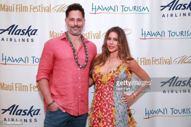 Joe Manganiello and Sofia Vergara attend the 2019 Maui Film Festival on on June 14 2019 in Wailea Hawaii