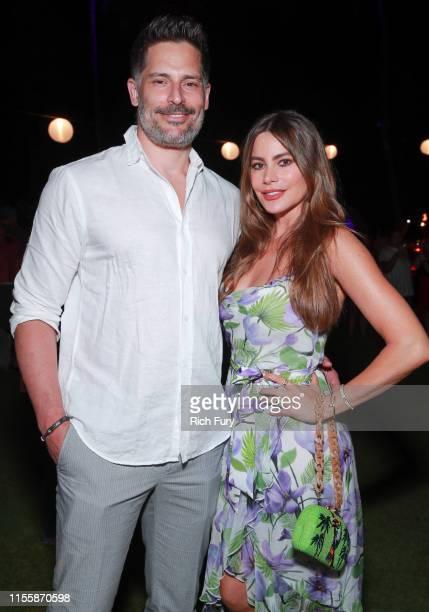 Joe Manganiello and Sofia Vergara attend the 2019 Maui Film Festival's Taste of Chocolate on June 13 2019 in Wailea Hawaii