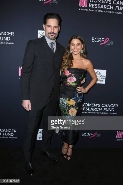 Joe Manganiello and Sofia Vergara attend The Women's Cancer Research Fund's An Unforgettable Evening Benefit Gala at the Beverly Wilshire Four...