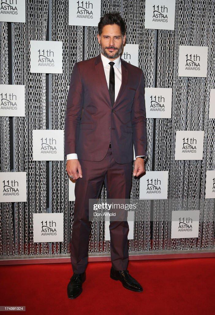 Joe Manganiello arrives at the 11th Annual ASTRA Awards at Sydney Theatre on July 25, 2013 in Sydney, Australia.