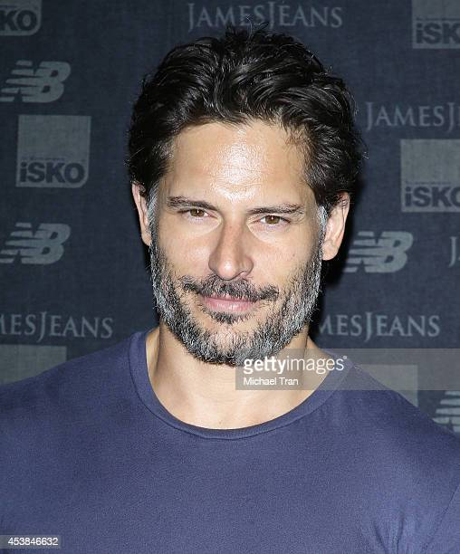 Joe Manganiello arrives at the dance party with New Balance and James Jeans powered by ISKO held at a private residence on August 19 2014 in Beverly...