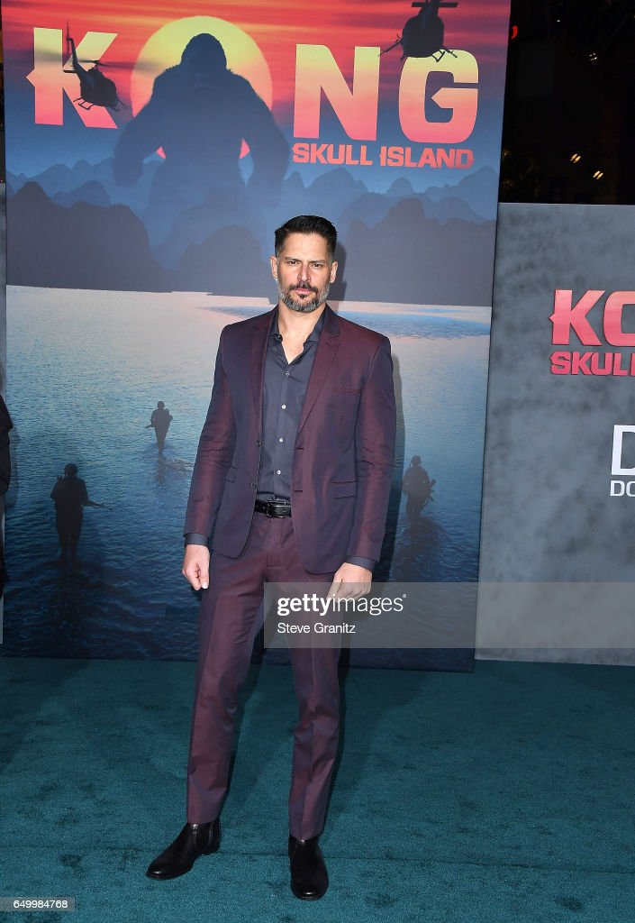 Joe Manganiello arrives at the Premiere Of Warner Bros. Pictures' 'Kong: Skull Island' at Dolby Theatre on March 8, 2017 in Hollywood, California.