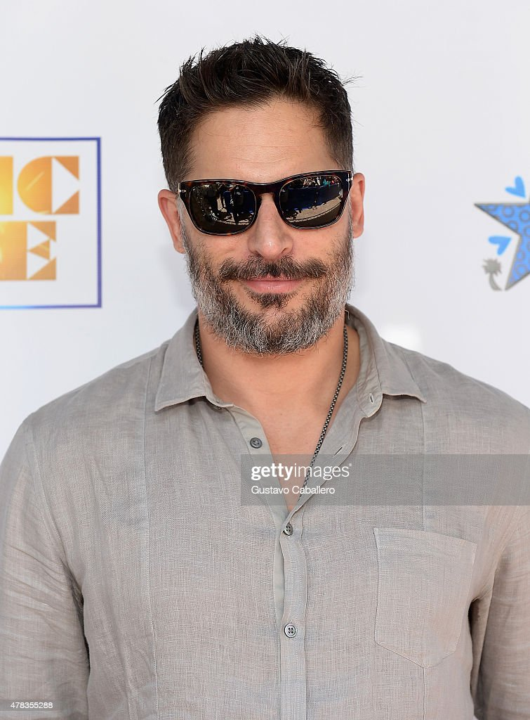 Joe Manganiello attends as the 'Magic Mike XXL' cast are honored with stars on The Official Miami Walk Of Fame at Bayside Marketplace on June 24, 2015 in Miami, Florida.
