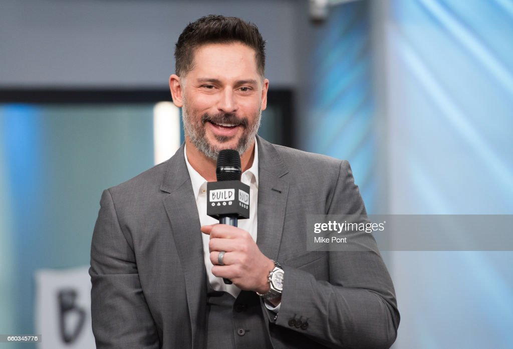 Joe Manganiello attends Build Series to discuss 'Smurfs: The Lost Village' at Build Studio on March 20, 2017 in New York City.