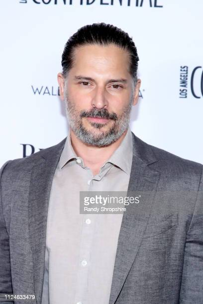 Joe Manganiello attends Los Angeles Confidential and Armie Hammer celebrate the annual awards issue with Belvedere Vodka on January 24 2019 in Los...