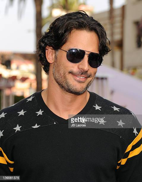 Joe Manganiello attends Premiere Of Iris A Journey Into The World Of Cinema By Cirque du Soleil at the Kodak Theatre on September 25 2011 in...