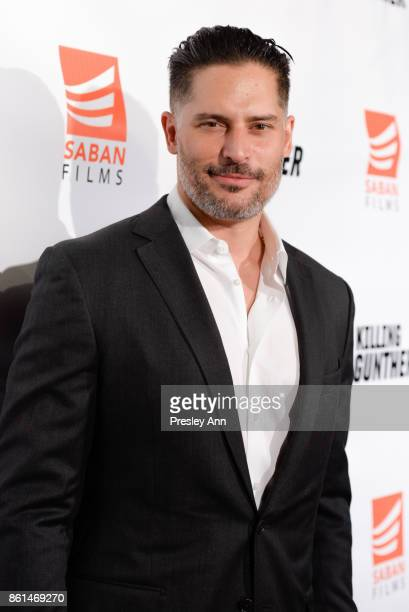 Joe Manganiello attends Premiere Of Saban Films' 'Killing Gunther' Red Carpet at TCL Chinese Theatre on October 14 2017 in Hollywood California