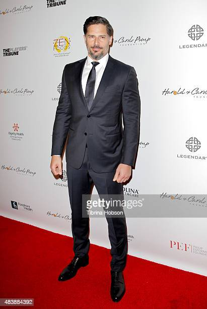 Joe Manganiello attends the 15th annual Harold and Carole Pump Foundation gala at the Hyatt Regency Century Plaza on August 7 2015 in Los Angeles...