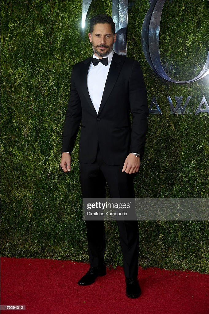 Joe Manganiello attends the 2015 Tony Awards at Radio City Music Hall on June 7, 2015 in New York City.