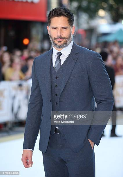 Joe Manganiello attends the European Premiere of 'Magic Mike XXL' at Vue West End on June 30 2015 in London England