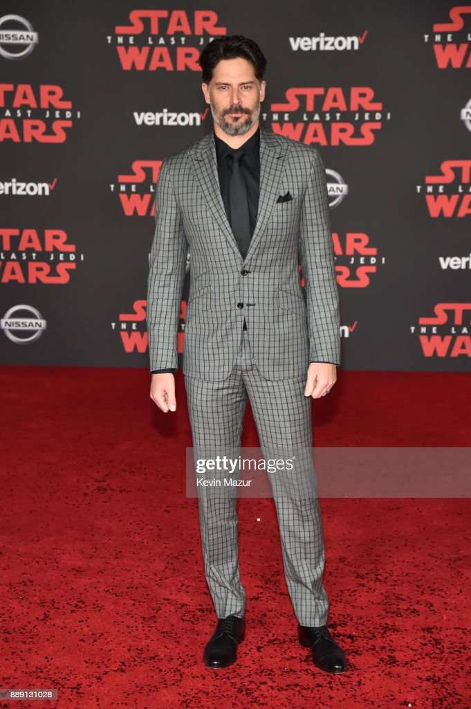 Joe Manganiello attends the premiere of Disney Pictures and Lucasfilm's 'Star Wars: The Last Jedi' at The Shrine Auditorium on December 9, 2017 in Los Angeles, California.