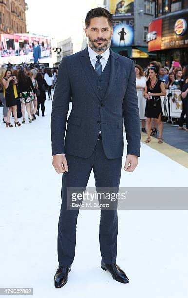 Joe Manganiello attends the UK Premiere of 'Magic Mike XXL' at the Vue West End on June 30 2015 in London England