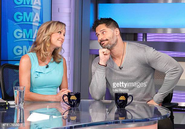 AMERICA Joe Manganiello is a guest on Good Morning America 6/22/15 airing on the Walt Disney Television via Getty Images Television Network