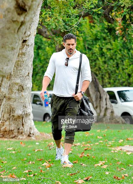 Joe Manganiello is seen on August 25 2015 in Los Angeles California
