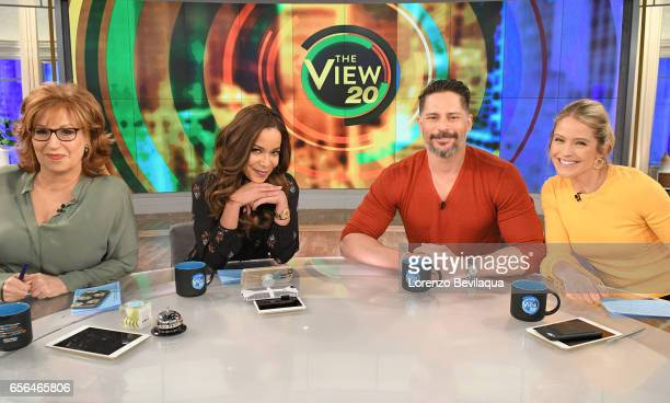 THE VIEW Joe Manganiello is the guest today Tuesday March 21 2017 on Walt Disney Television via Getty Images's The View The View airs MondayFriday on...