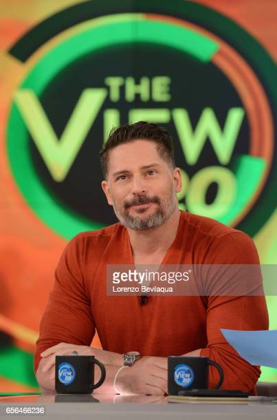 THE VIEW Joe Manganiello is the guest today Tuesday March 21 2017 on ABC's 'The View' 'The View' airs MondayFriday on the ABC Television Network JOE