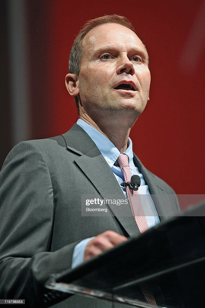 Joe Mansueto, chairman and chief executive officer of Morningstar Inc., speaks at the Morningstar Investment Conference in Chicago, Illinois, U.S., on Wednesday, June 8, 2011. Bill Gross, co-chief investment officer of Pacific Investment Management Co., said stock markets will be 'on their own' once real interest rates can't go lower. Photographer: Tim Boyle/Bloomberg via Getty Images