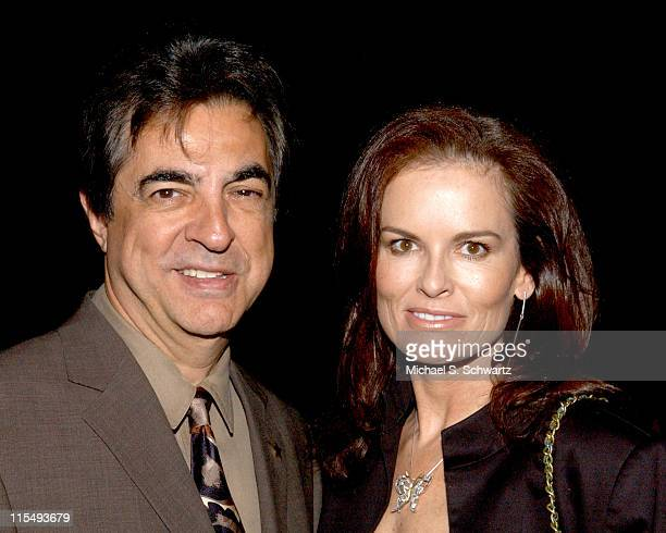 Joe Mantegna and Denise Brown during The 20th Annual Charlie Awards at The Hollywood Roosevelt Hotel in Hollywood California United States