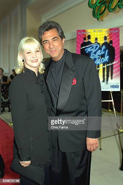 Joe Mantegna and his wife Arlene arrive