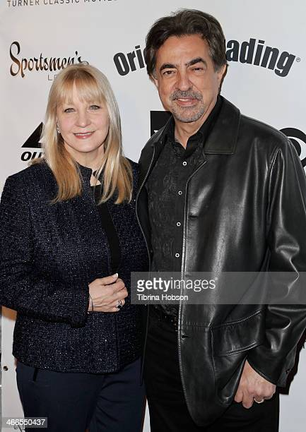 Joe Mantegna and his wife Arlene Vrhel attend the 2nd annual Borgnine movie star gala honoring actor Joe Mantegna at Sportman's Lodge on February 1...