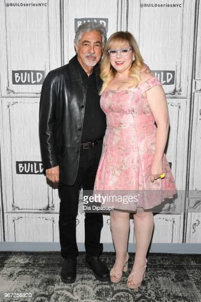 "Joe Mantegna and Kirsten Vangsness visit the Build Series to discuss ""Criminal Minds"" at Build Studio on June 4, 2018 in New York City."