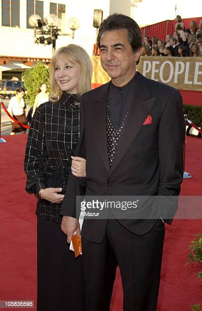 Joe Mantegna and wife Arlene during The 30th Annual People's Choice Awards Red Carpet at Pasadena Civic Auditorium in Pasadena California United...