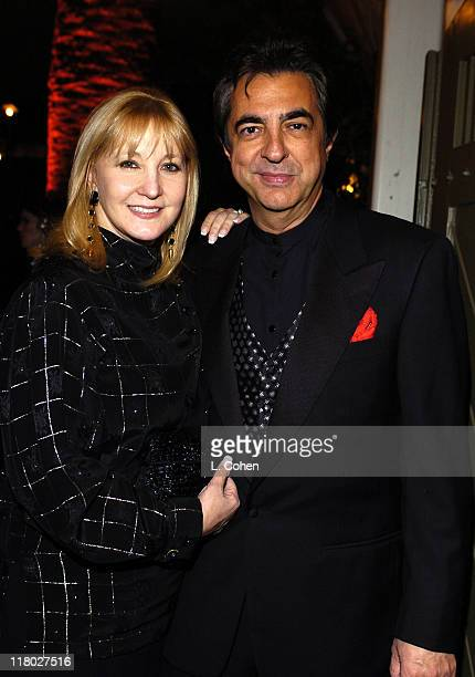 Joe Mantegna and wife Arlene during The 30th Annual People's Choice Awards Official After Party at Twin Palms in Pasadena California United States