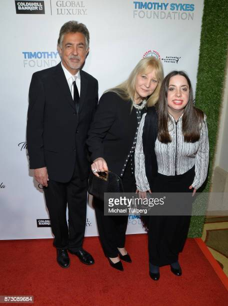 Joe Mantegna Arlene Vrhel and Mia Mantegna attend AMT's 2017 DREAM Gala at Montage Beverly Hills on November 11 2017 in Beverly Hills California